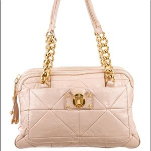 Marc Jacobs quilted leather Ines satchel
